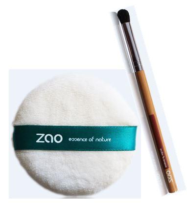 ZAO - Pinceau Estompeur et houpette
