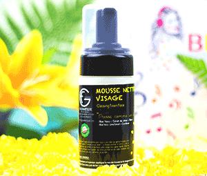 FG COSMETIQUE - Mousse Nettoyante Visage 100% Naturelle